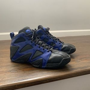 Rebook Pump Mens Blue Black Sneaker 4-149168